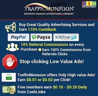Cara Kerja TrafficMonsoon Untuk Pemula (FREE MEMBER)