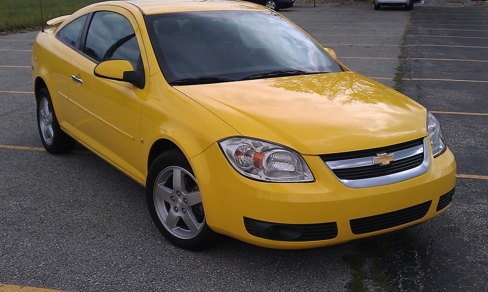 Cobalt chevy cobalt lt 2009 : Mark H. @ Eriks Chevrolet: 2009 Chevy Cobalt LT Coupe Rally Yellow!!