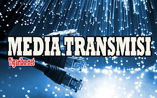 Pengertian Media Transmisi     Pengertian media transmisi, media transmisi adalah media yang menghubungkan antara pengirim dan puntuk membawa informasi. Atau bisa disebut sebagai pengantar informasi. Media transmisi memiliki kegunaan yaitu : dapat menghubungkan antara Pengirim dan Penerima agar dapat melakukan pertukaran data, seperti computer, TV, radio yang membutuhkan media transmisi agar dapat menerima data.      Fungsi Media Transmisi    Fungsi media transmisi yaitu untuk membawa data atau informasi dari satu komputer ke komputer lain. Maka dalam pengiriman data akan memerlukan media transmisi yang akan digunakan untuk keperluan transmisi. Selain itu, media transmisi merupakan bagian dasar yang sangat diutamakan sebelum memulai transmisi data.      Jenis-Jenis Media Transmisi    Jenis-jenis media transmisi terbagi menjadi dua, yaitu Media Transmisi Guided dan Media Transmisi Unguided. Untuk mengenal jenis-jenis media transmisi tersebut bisa dilihat dari penjelasan berikut.    1. Pengertian Media Transmisi Guided    Pengertian media transmisi guided, media transmisi guided adalah media untuk mentransmisikan suatu gelombang elektromagnetik ( data) dengan menggunakan konduktor fisik seperti serat optic atau kabel. Jenis media transmisi guided terbagi atas 3 jenis yaitu Twisted Pair Cable, Coaxial Cable, dan     a. Twisted Pair Cable    Twisted Pair Cable adalah kabel yang mempunyai dua konduktor supaya dapat terhubung atau dapat digabungkan dengan tujuan untuk mengurangi atau dengan meniadakan gangnguan elektromagnetik dari Luar.    b. Coaxial Cable    Coaxial Cable merupakan jenis kabel yang menggunakan dua buah konduktor. Coaxial Cable ini banyak digunakan untuk mentransmisikan sinyal frekuensi tinggi mulai 300 Khz keatas.      Kelebihan Coaxial Cable adalah jarak untuk jangkaunnya luas, harganya relative murah.    Kelemahan coaxial cable yaitu mempunyai redaman yang dapat dikatakan relatif besar sehingga ketika dilakukan hubungan dengan yang jarak jauh wajib di