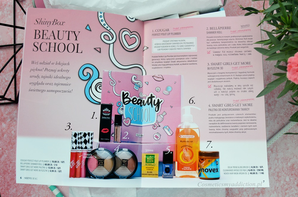 ShinyBox, Wrzesień 2017 - Beauty School
