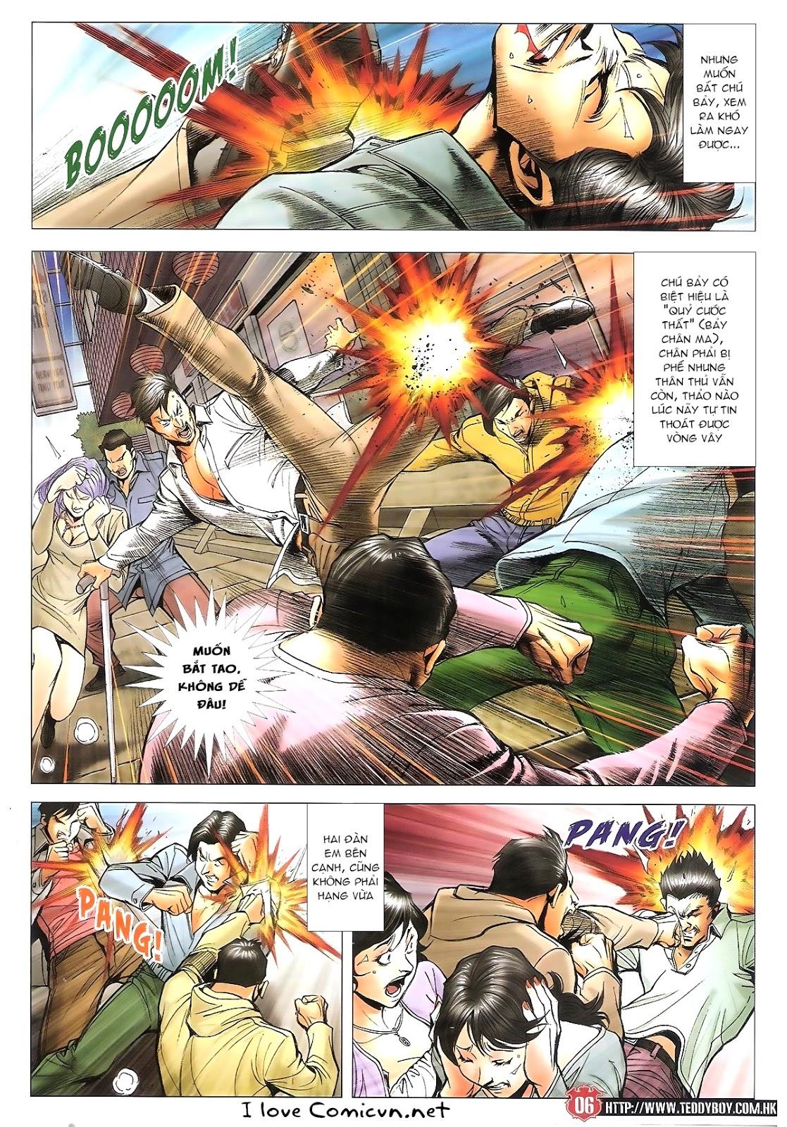 Người Trong Giang Hồ chapter 1696: giết vào vượng giác trang 5