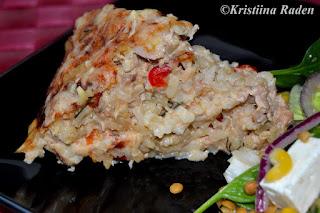 Rice tuna casserole