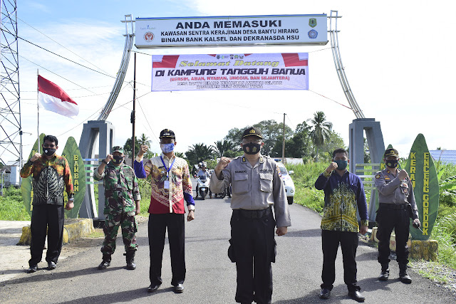 Tim Penilai KTB Provinsi Kalsel Tiba di Kabupaten HSU