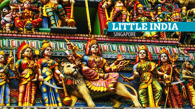 """Indian Heritage Center - """"Little India"""" is located in the middle of Singapore"""