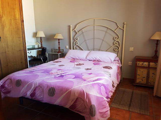 Habitación del apartamento de Jarilla