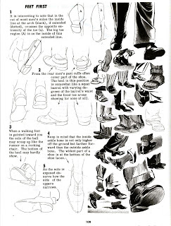 Character and Creature Design Notes: Foot (and Shoe
