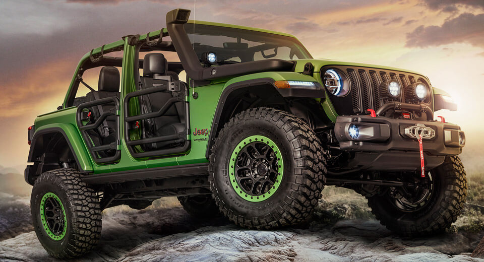 Jeep Performance Parts >> New Wranglers Show Off Mopar Jeep Performance Parts Car News