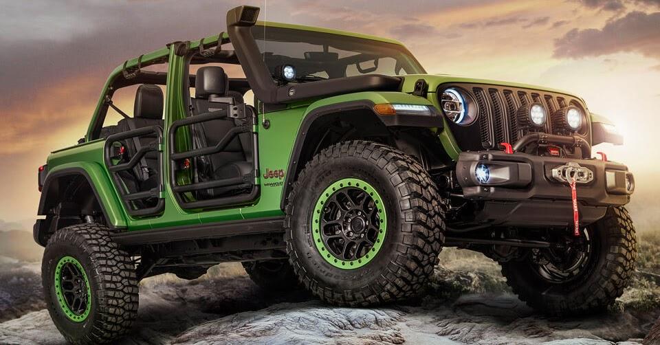 new wranglers show off mopar jeep performance parts. Black Bedroom Furniture Sets. Home Design Ideas