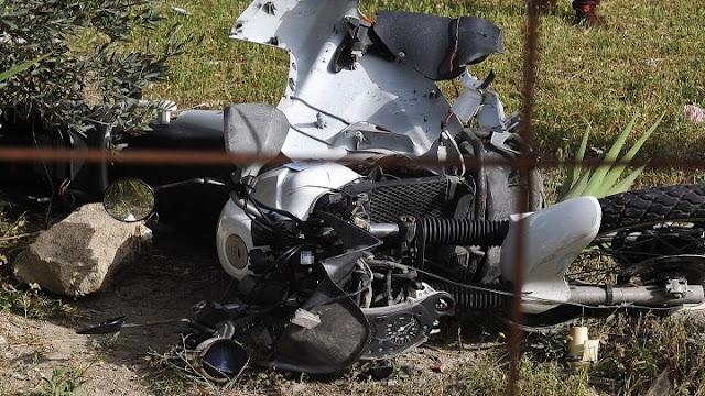 Ζητούνται πληροφορίες για τροχαίο ατύχημα με μοτοσυκλέτα στην Π.Ε.Ο. Κορίνθου - Επιδαύρου