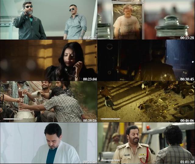 Ranarangam 2019 Hindi Dubbed 720p WEBRip