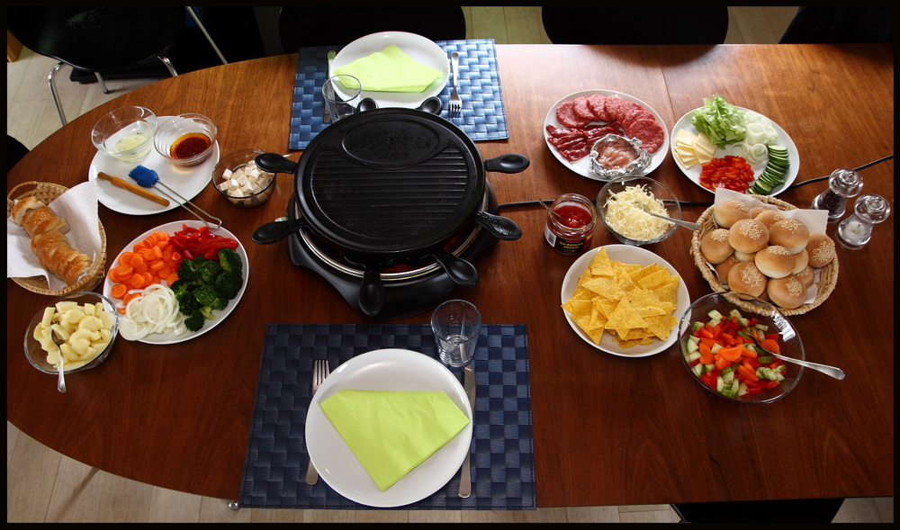forslag til raclette