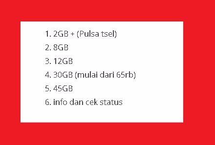Paket Internet Telkomsel Murah Dengan Kuota Besar Masa Aktif Bulanan Terbaru Cara Cek Sisa Paket