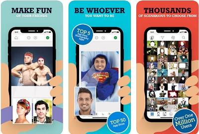 aplikasi edit foto emoji lucu iphone
