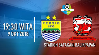 Persib vs Madura United