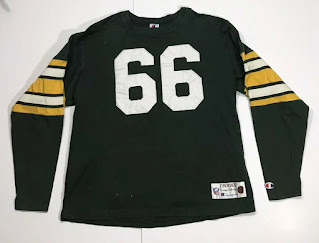 Green Bay Packers Ray Nitschke Champion Throwbacks jersey