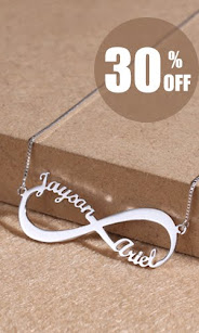Getnamenecklace Infinity Necklaces
