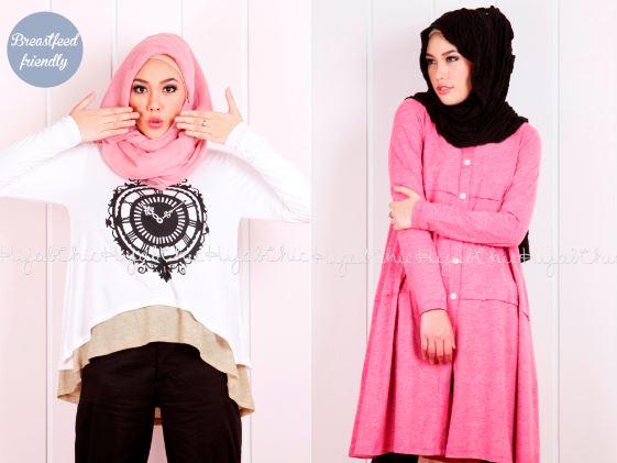 45 trend model baju muslim desain terbaik 2018