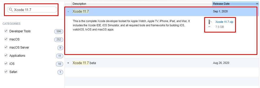 Download Xcode