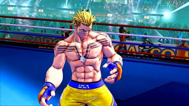 The last character for Street Fighter 5