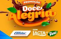 Promoção Doce Alegria Condor com Lacta e Tang