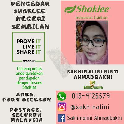 Pengedar Shaklee Negeri Sembilan 0134125579