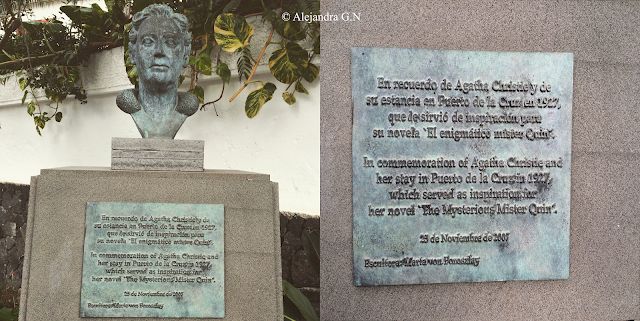 Recuerdo a La Dama del Crimen en Canarias