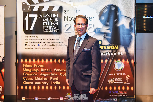 Enrique Gonzalez Kong 17th Latin American Film Festival 2018 in Malaysia GSC Pavilion KL