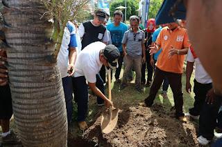 Aji Man dan Irfan, Hadiri Penanaman Pohon Reuni Perak Alumni SMAN 1 Kota Bima '92