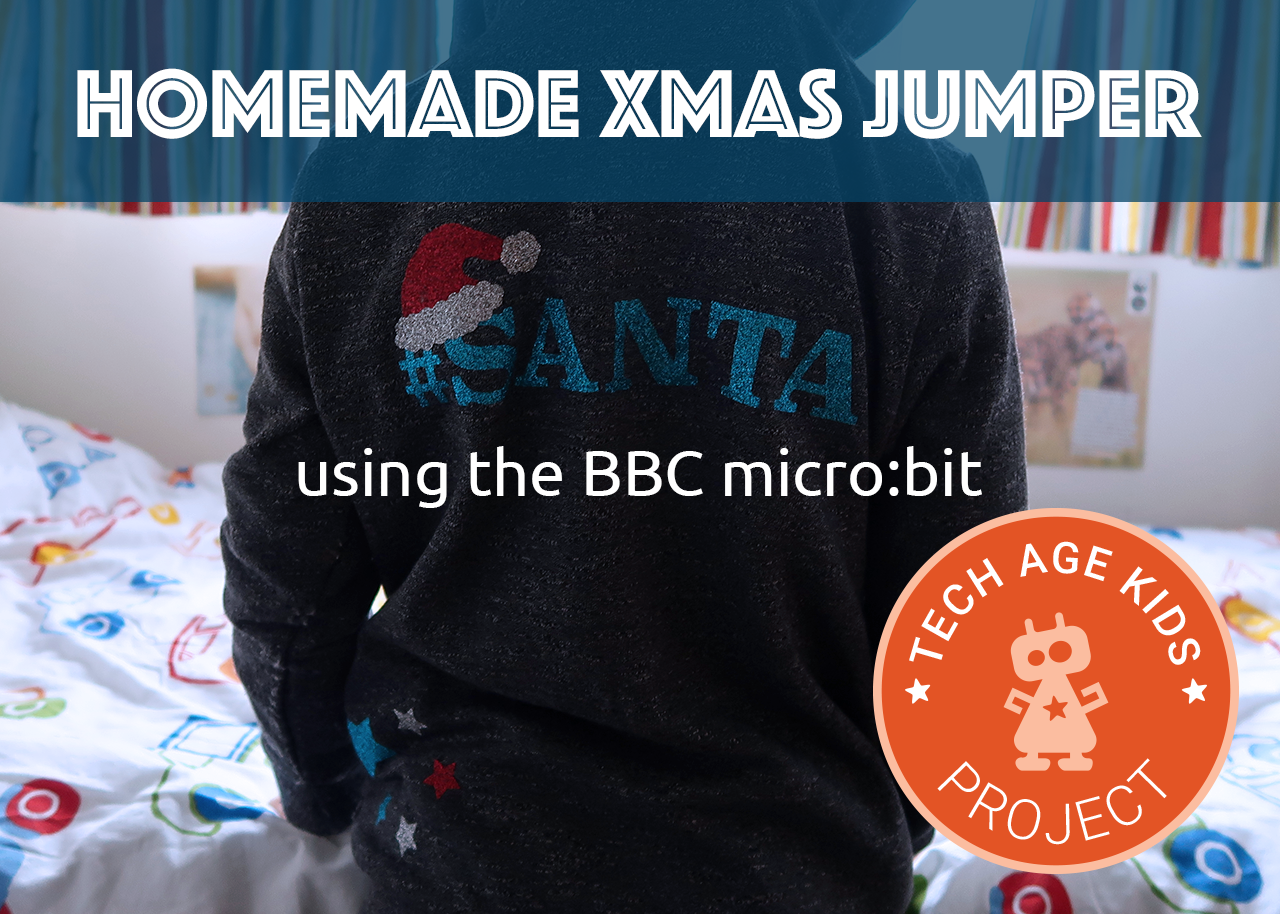 Power Rangers Christmas Jumper.Homemade Christmas Jumper With The Micro Bit Tech Age Kids