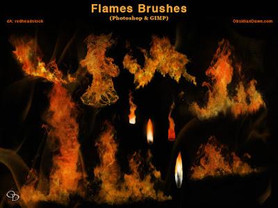 فرش التصميم انواعها واشكالها وابدااعااتها ... Photoshop Flames___fire_photoshop_and_gimp_brushes_by_redheadstock-dajtzk