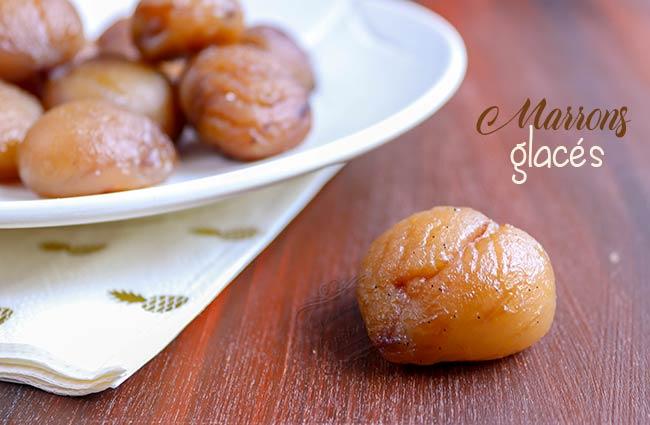 marrons glacés recette