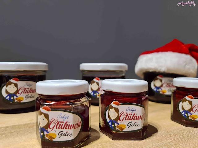 Geschenke aus der Küche Glühweingelee für Weihnachtsmarktfans