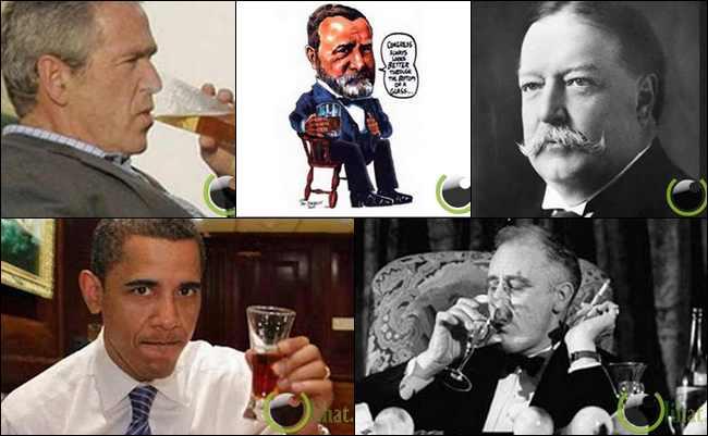 10 Presiden Amerika Serikat yang Hobi Minuman Keras sampai Mabuk