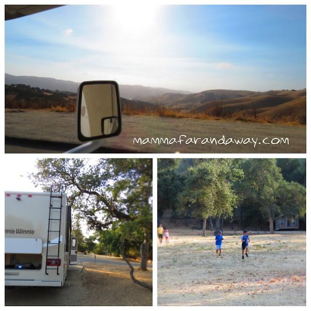 campeggio in california