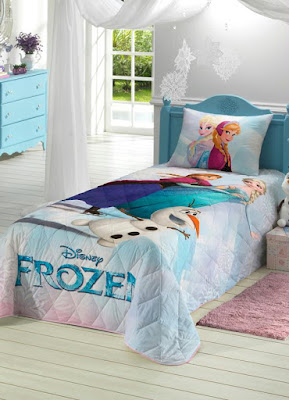 QUARTO DECORADO FROZEN