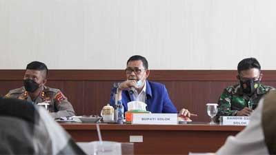 rapat forum diskusi politik menyambut Hari Raya Idul Adha 1442 H
