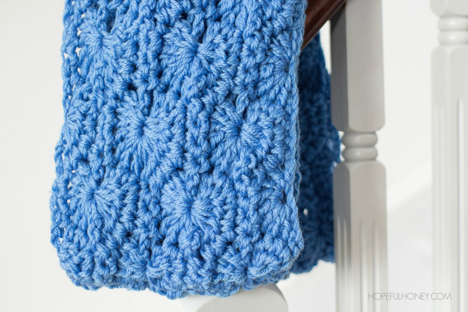 Double Crochet Infinity Scarf Free Pattern : Hopeful Honey Craft, Crochet, Create: Chunky Infinity ...