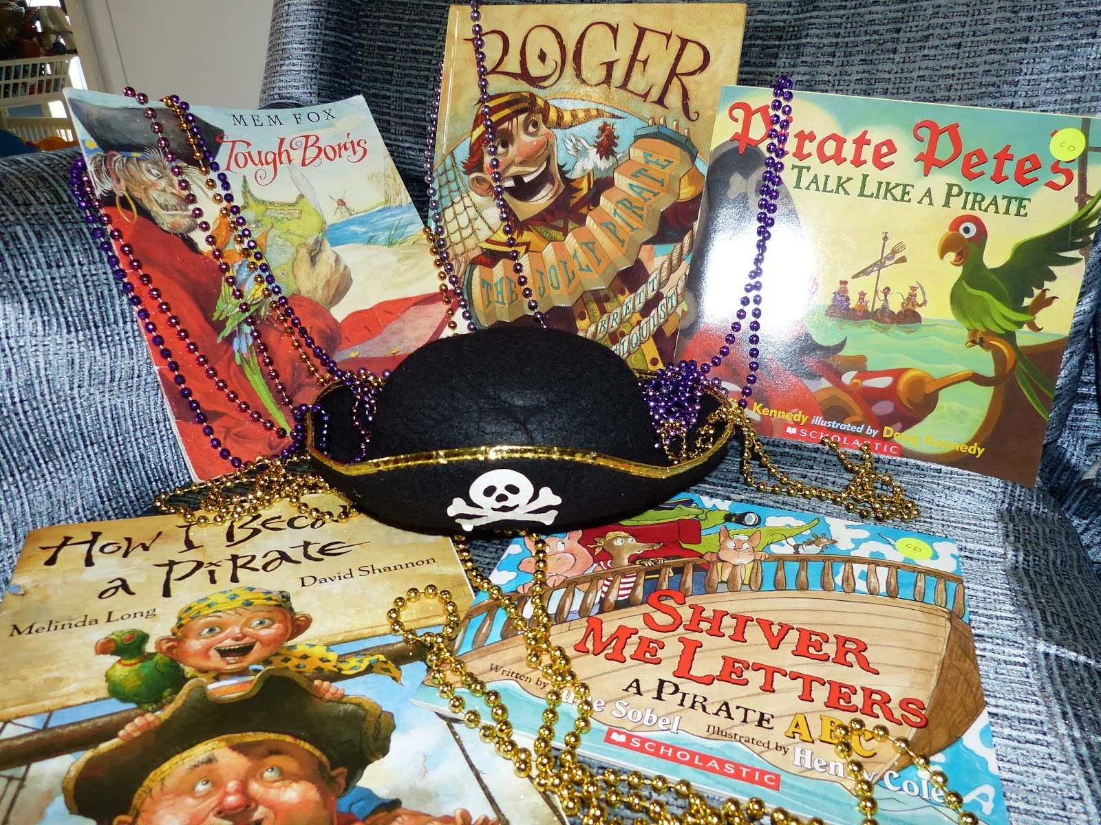 X Marks the Spot: Pirate fun and the letter Xx