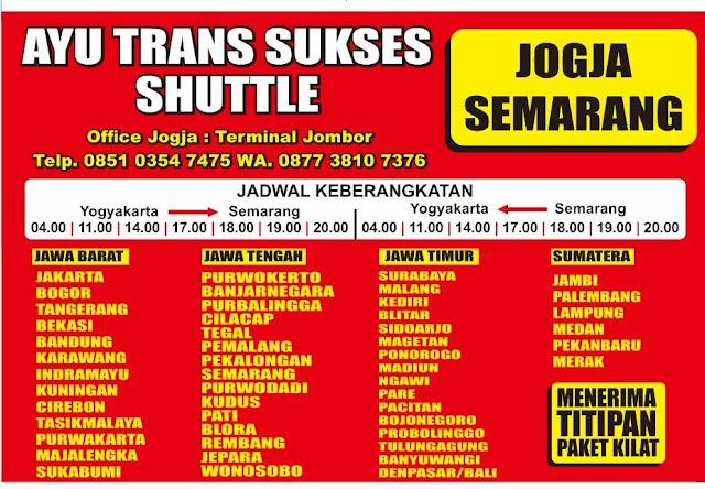 Travel Semarang Yogya