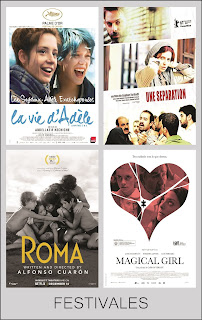 Festivales de Cine de la Década 2010-2019