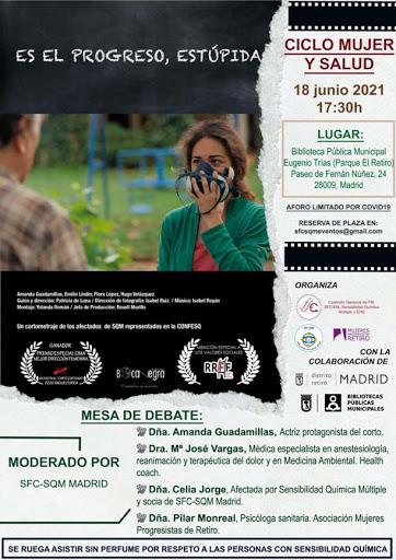 Ciclo Mujeres y Salud 'Es el progreso, estúpida'