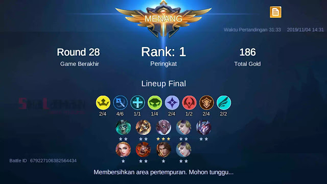 Contoh Sinergi Hero Chess TD Mobile Legends Mage