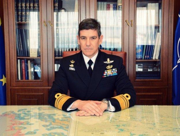 Αρχηγός Στόλου που αποστρατεύτηκε: Τιμή μου που φεύγω ΤΩΡΑ