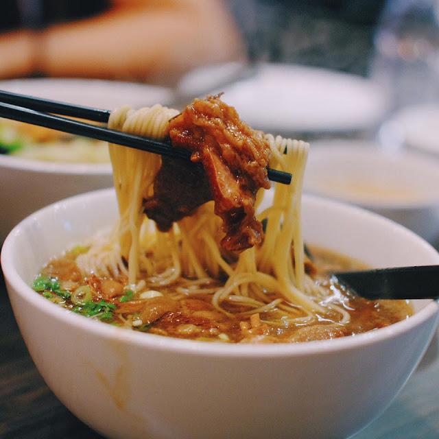 Noodle with Stewed Beef Brisket