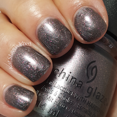 China Glaze Rebel Collection 2016 - Heroine Chic | Kat Stays Polished