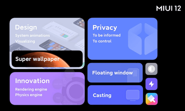 MIUI 12 Globally Unveiled With Privacy, Multi-Tasking Features