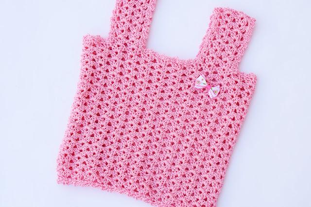 1 - Crochet Camiseta de tirantes a crochet sencilla y fresca por Majovel Crochet