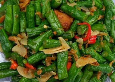 Resep Oseng tempe kacang Panjang Sederhana