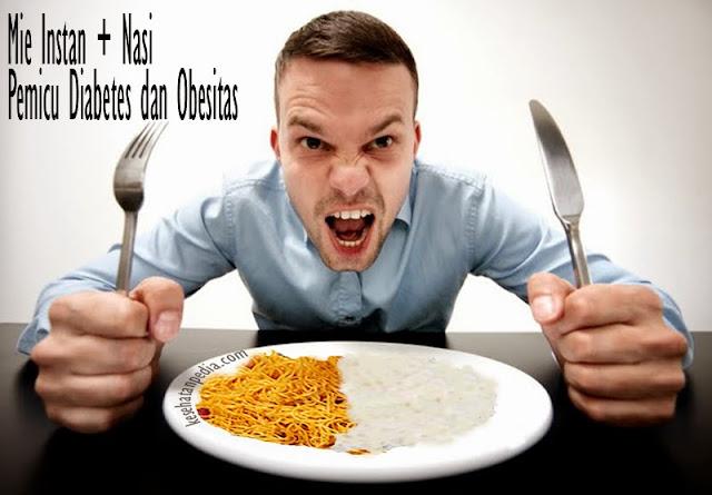 Bahaya Mie Instan Dicampur Nasi [Hati-Hati]