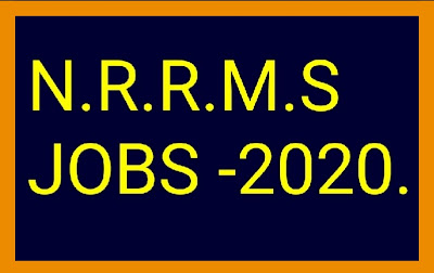 National Rural Recreation Mission Society(NRRMS) Jobs -2020.